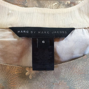Marc Jacobs Dresses - Marc by Marc Jacobs Gold Cocktail Dress